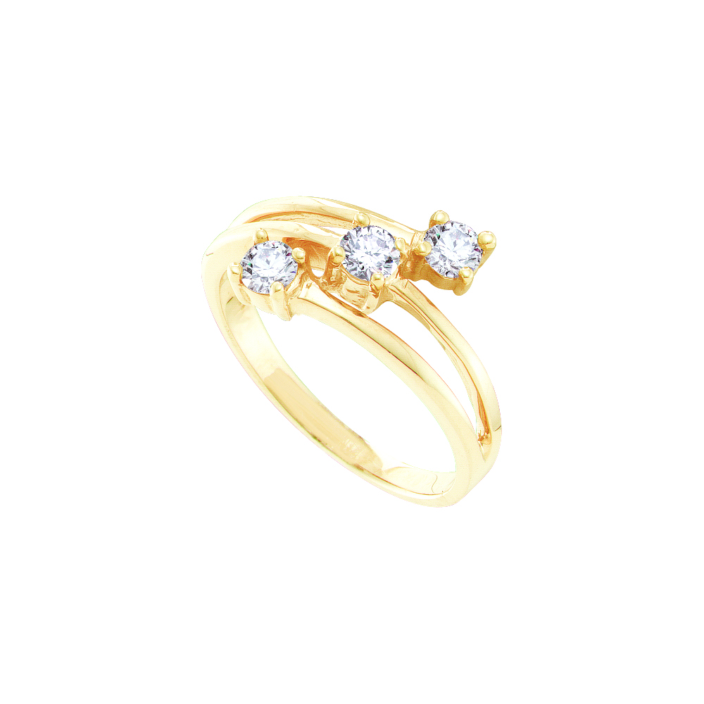 0.50CTW DIAMOND LADIES RING / Womens